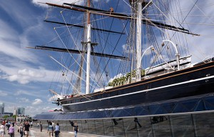 photo of the cutty sark in greenwich