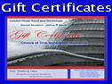 example of photography gift certificates
