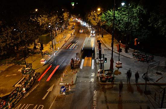 Photograph of Victoria Embankment at Night