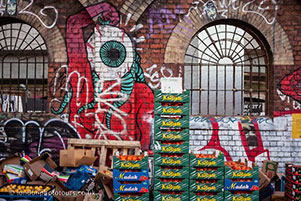 Photo of Market in Street photography Course Shoreditch with Street Art