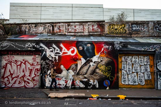 Street Photography Workshop - street art in to be found around shoreditch and brick lane