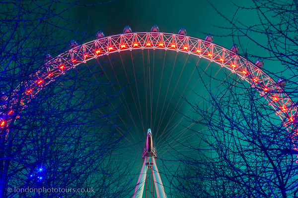 night photography London short course example photo