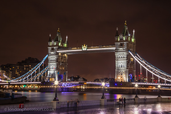 Tower Bridge Night Photography