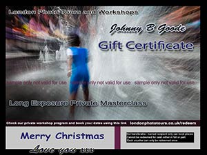 gift voucher for private long exposure photography masterclass photo of slow exposure of water