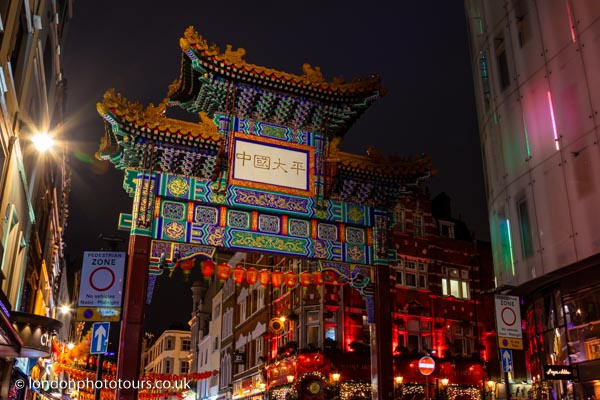 London Chinatown to Soho Night Photography Tour