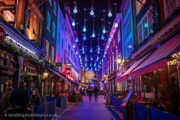 Christmas Lights London Photography Tour
